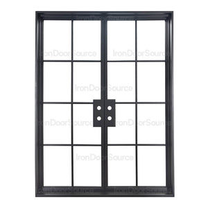 Air 5 - Double Flat - Iron Door Source
