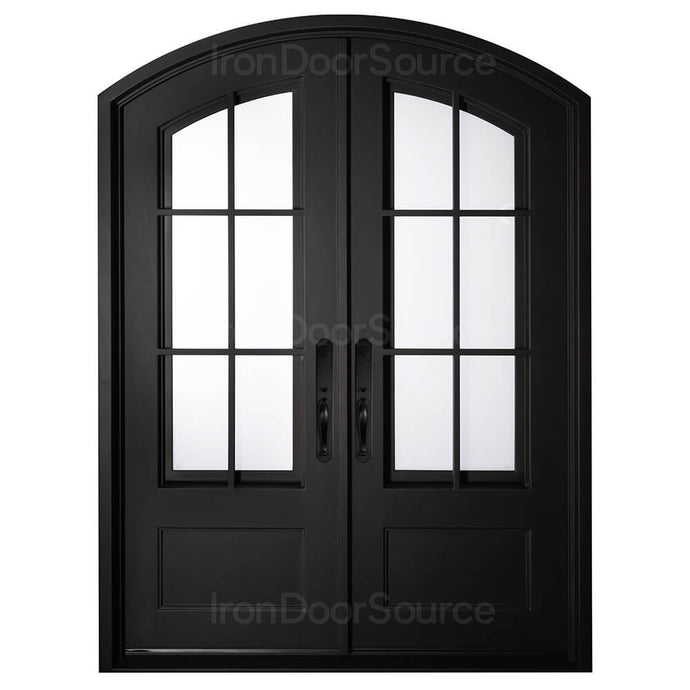 Air 8 - Double Flat - Iron Door Source