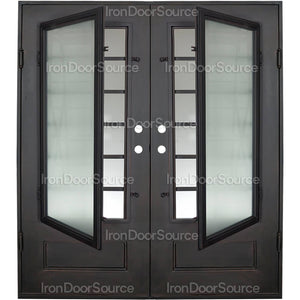 Air 9 - Double Flat - Iron Door Source