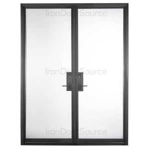 Air Lite - Double Flat - Iron Door Source