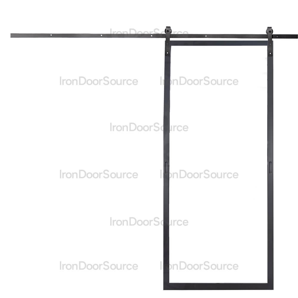 Air Lite Interior - Barn Door - Iron Door Source