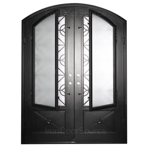 Baily - Double Arch - Iron Door Source