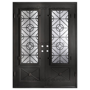 Baily - Double Flat - Iron Door Source