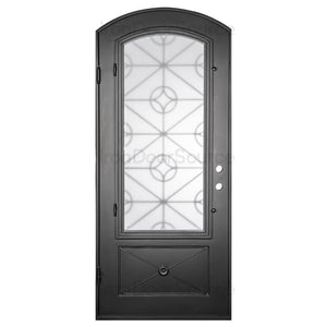 Baily - Single Arch - Iron Door Source