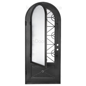 Baily - Single Full Arch - Iron Door Source