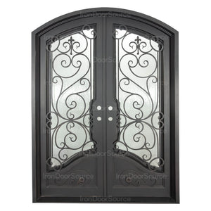 Beverly - Double Arch - Iron Doors Source