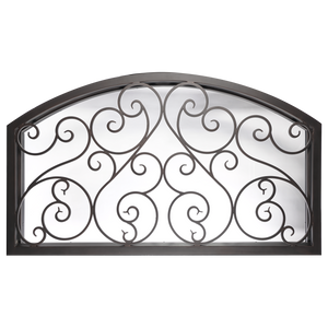 Beverly Transom - Arch - Iron Door Source