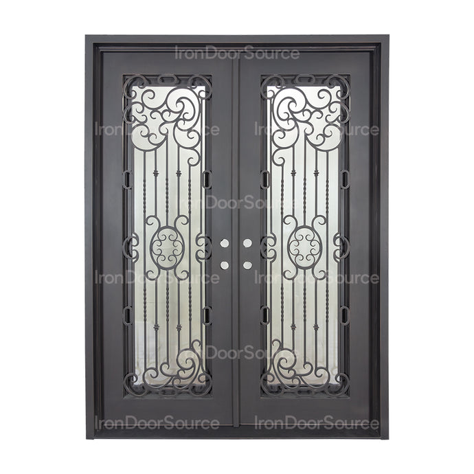 Blackbird - Double Flat - Iron Door Source