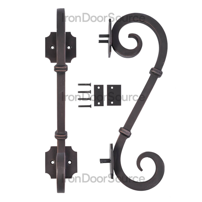 Door Handle - Edition - Iron Door Source