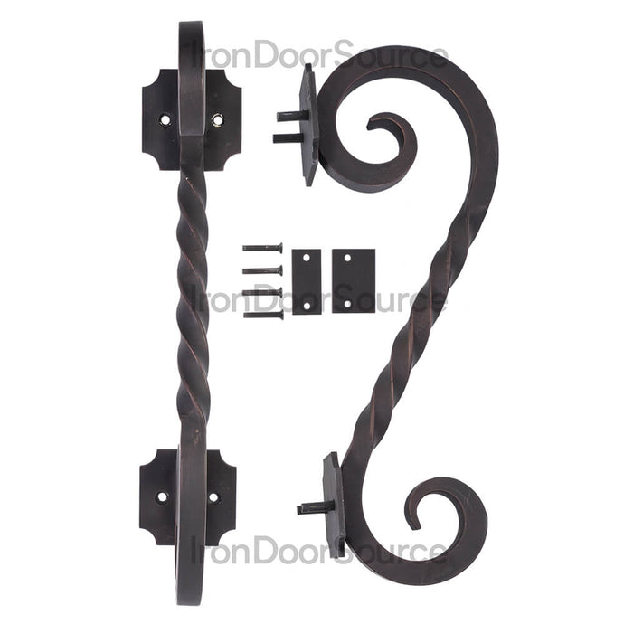 Door Handle - Juno - Iron Door Source