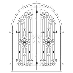 Expressway - Double Full Arch - Iron Door Source