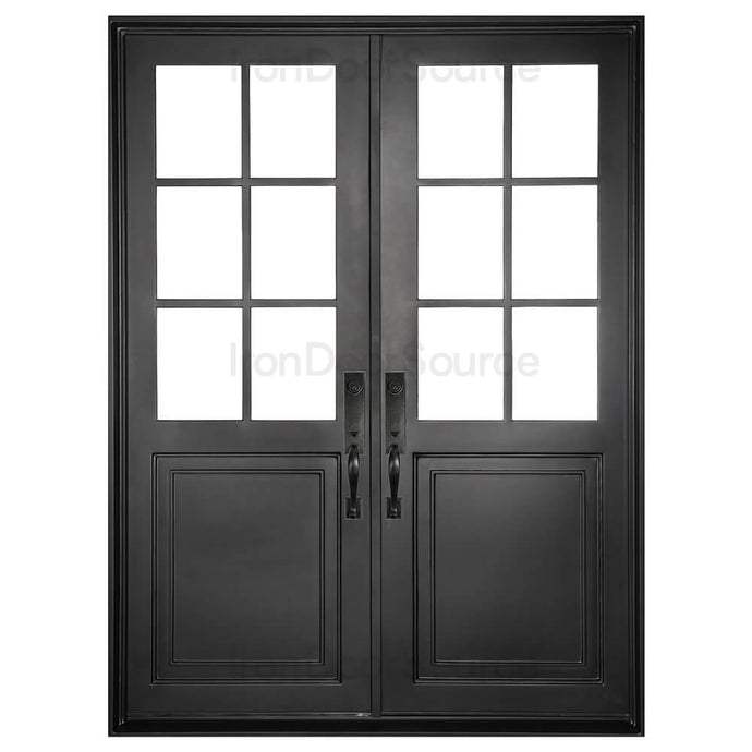 Getty - Double Flat - Iron Door Source
