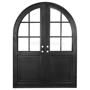 Getty - Double Full Arch - Iron Door Source