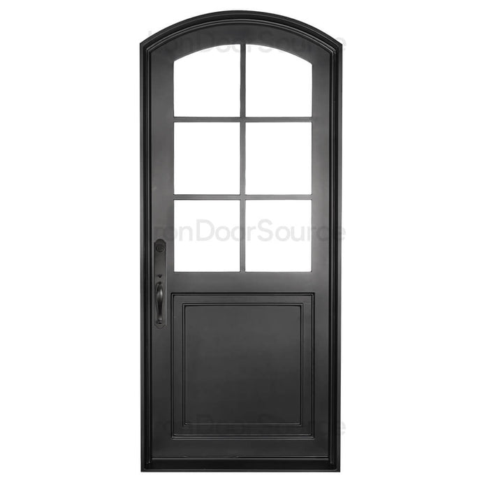 Getty - Single Arch - Iron Door Source