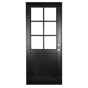 Getty - Single Flat - Iron Door Source