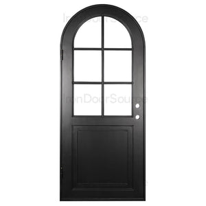 Getty - Single Full Arch - Iron Door Source