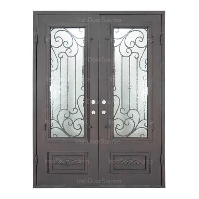Golden Gate - Double Flat - Iron Door Source