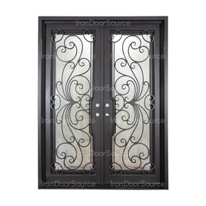 Miracle - Double Flat - Iron Door Source