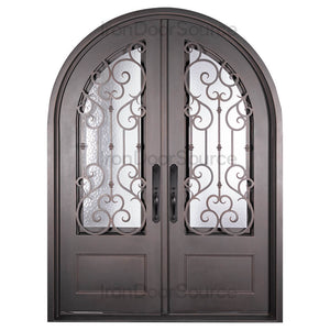 New York - Double Full Arch - Iron Door Source\
