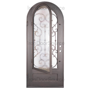 Miracle - Single Arch - Iron Door Source