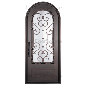 New York - Single Full Arch - Iron Door Source
