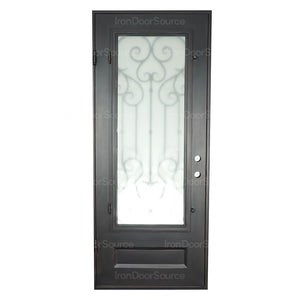 New York - Single Flat - Iron Door Source