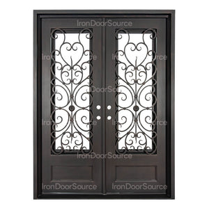 Night - Double Flat - Iron Door Source