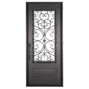 Night - Single Flat - Iron door Source
