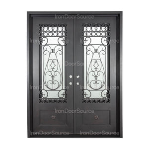 Parkside - Double Flat - Iron Door Source