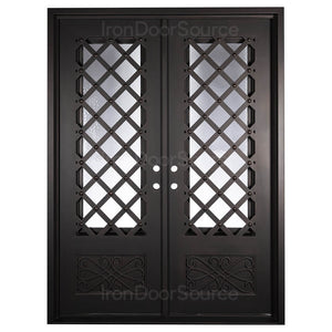Queensway - Double Flat - Iron Door Source
