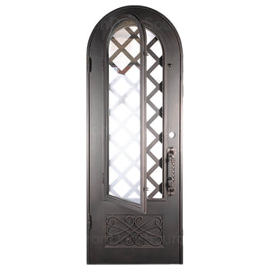 Queensway - Single Arch - Iron Door Source