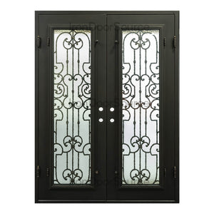 Washington - Double Flat - Iron Door Source