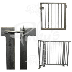 437.95' Iron Fence Bundle - Hot Dipped Galvanized | Clearance