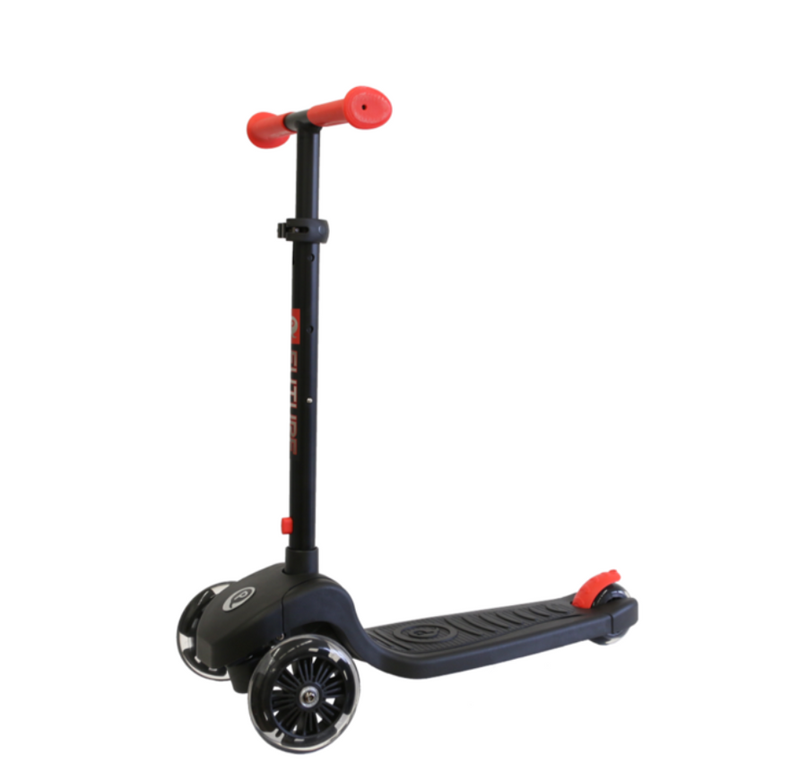 LED Red light scooter