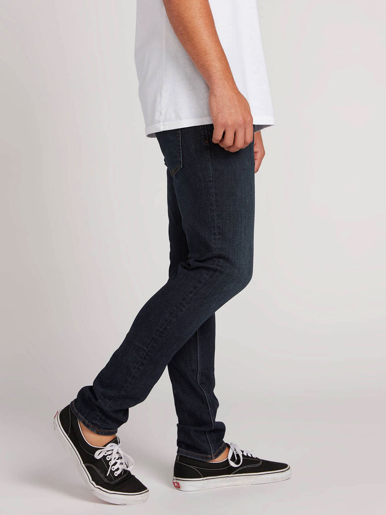 2 X 4 Tapered Jeans - Vintage Blue