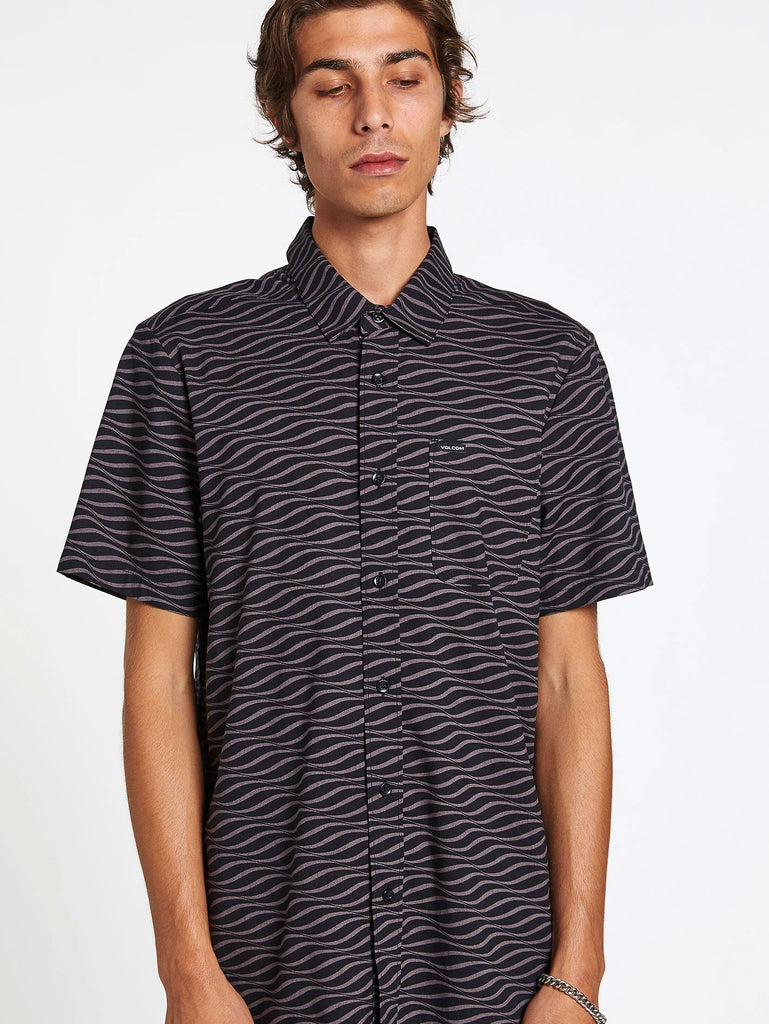 Levstone Vibes Shirt - Dark Charcoal