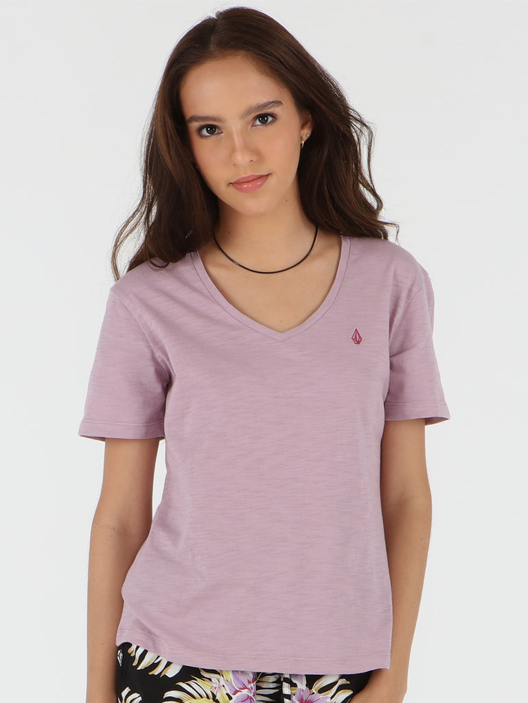 Solid Tee - Dusty Violet