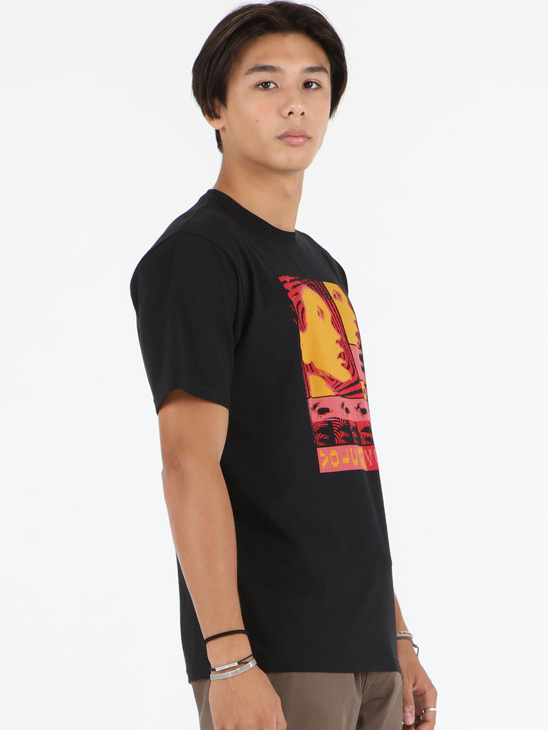 Embedded Face Tee - Black