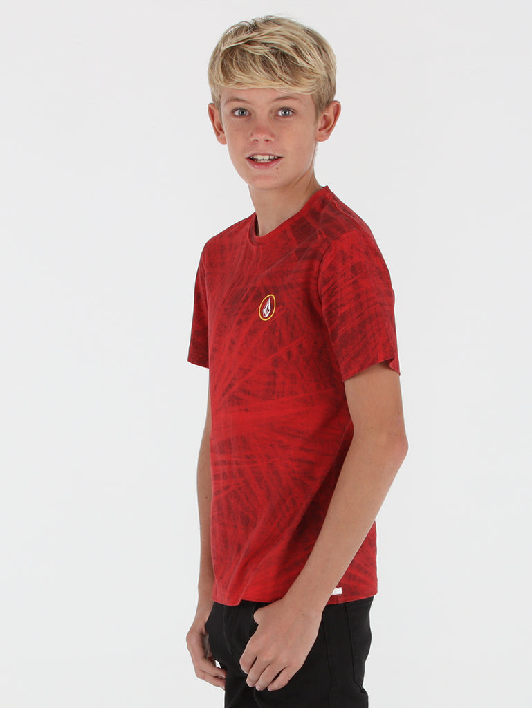 Big Boys Palm Tee - Red