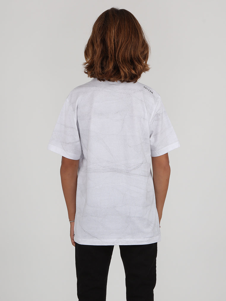 Big Boys Cloudy Tee - White