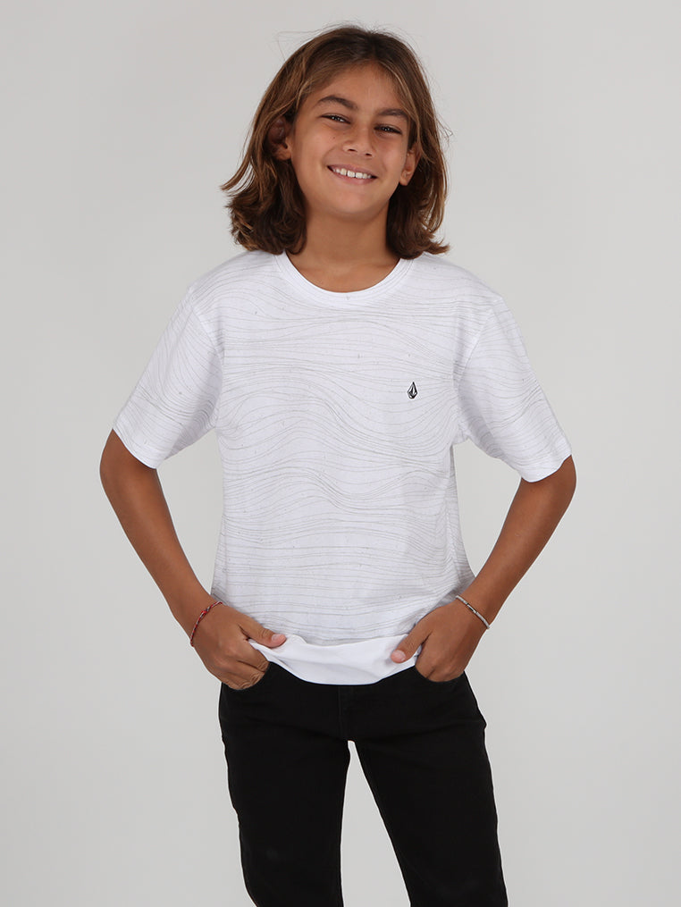 Big Boys Cross Out Tee - White