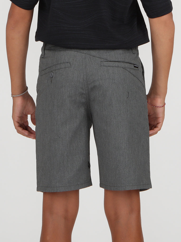 Big Boys Frickin Modern Chino Short - Charcoal Heather
