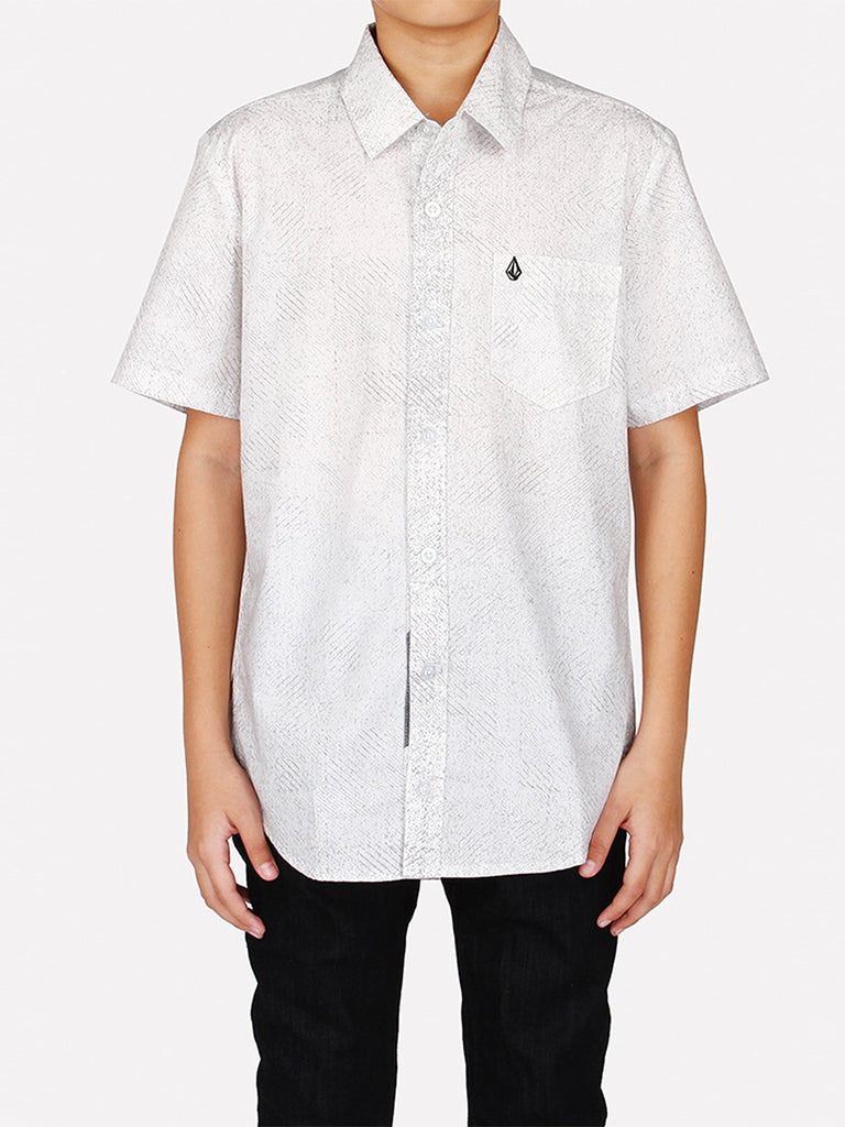 Vender Short Sleeve Top - White