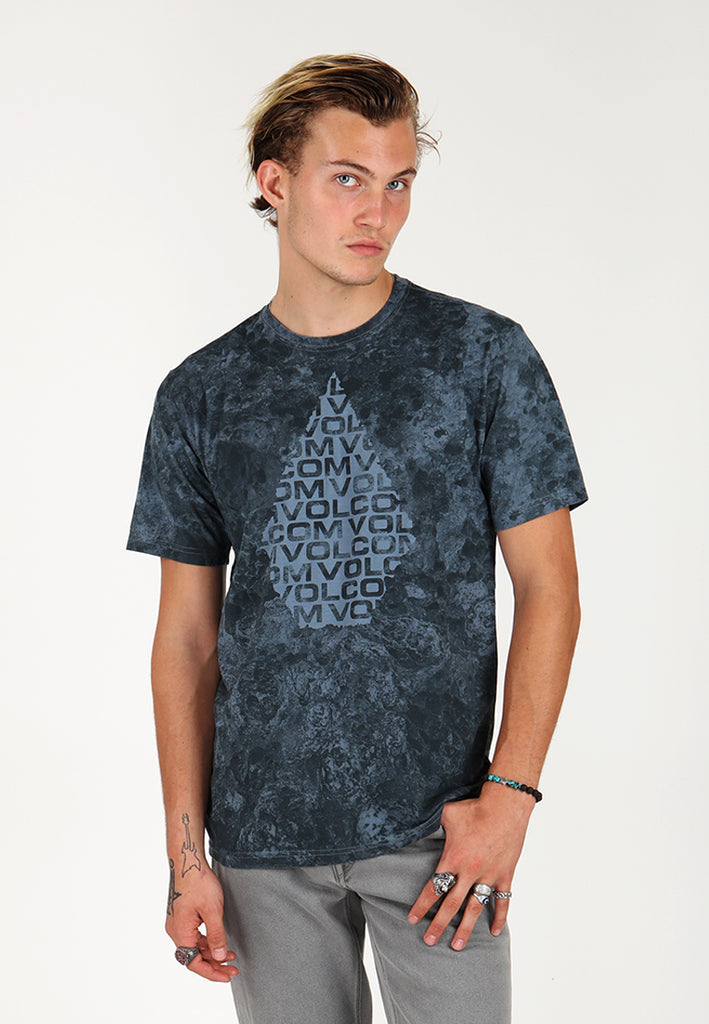 Crag Tee - Stormy Blue