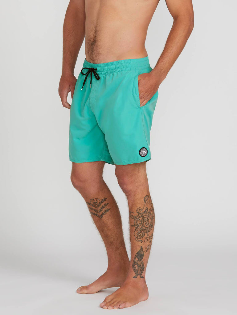 Lido Solid Trunks - Mysto Green