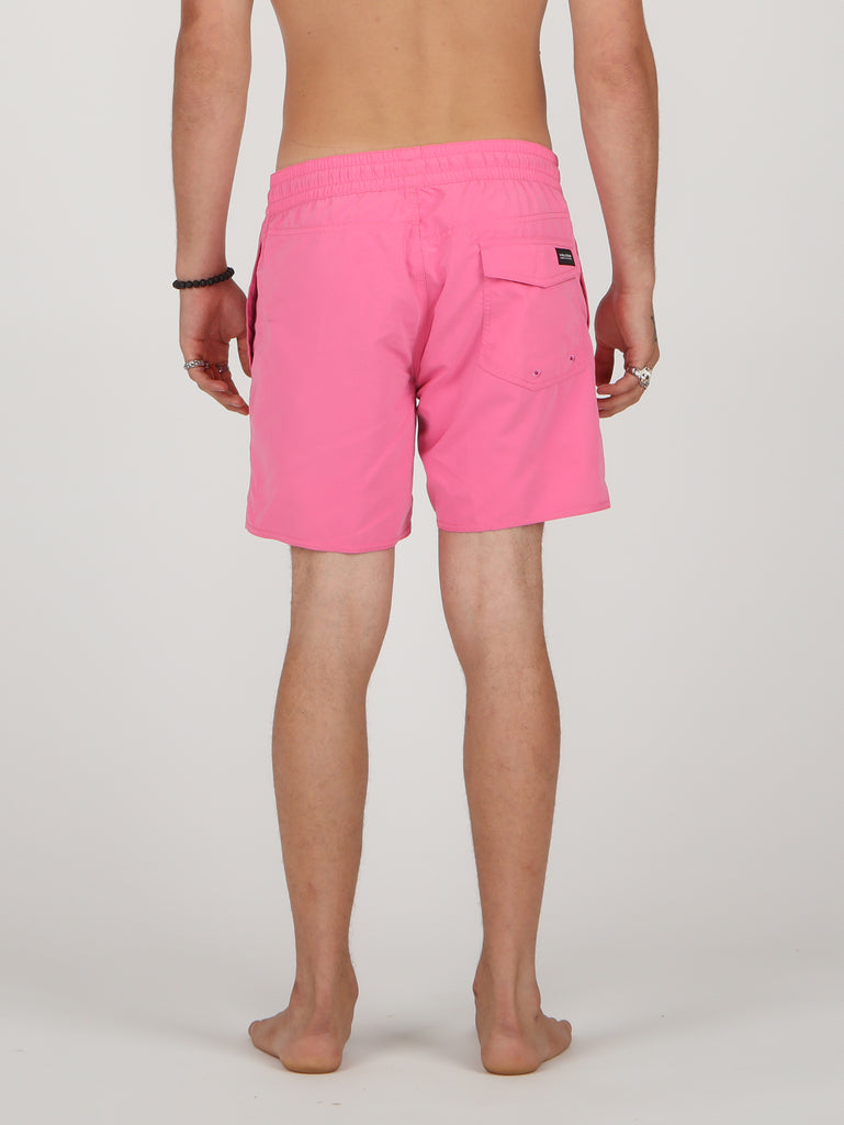 Lido Solid Trunks - Desert Pink