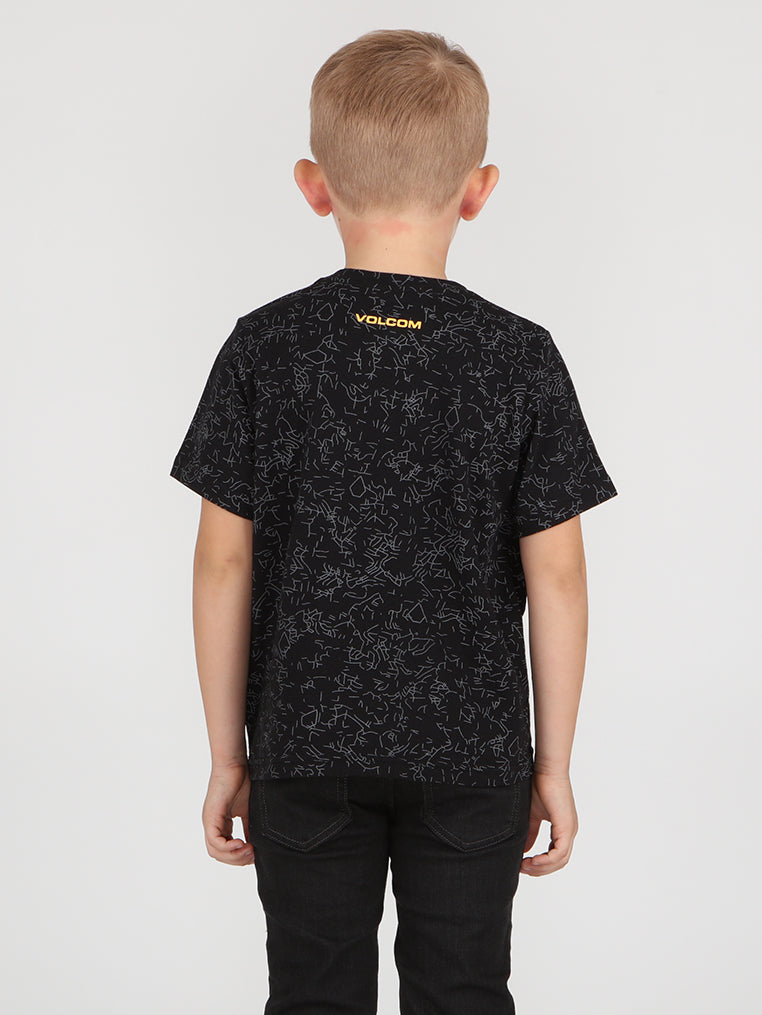 Little Boys Bio Tee - Black