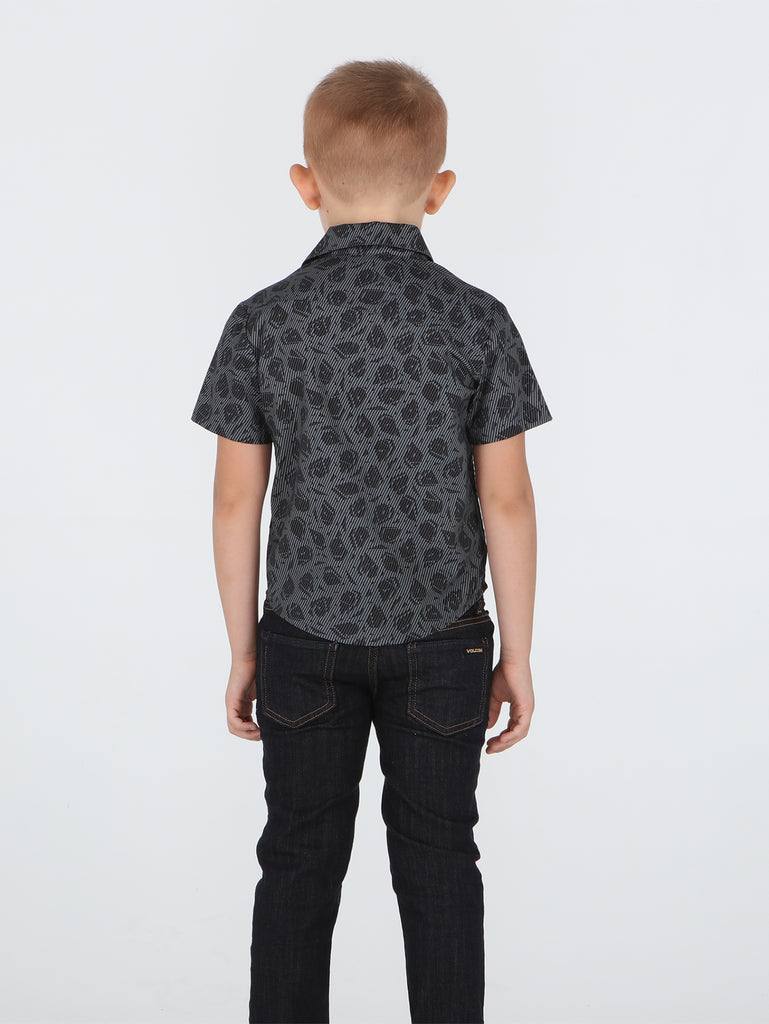 Little Boys Fragile Fs Shirt - Grey