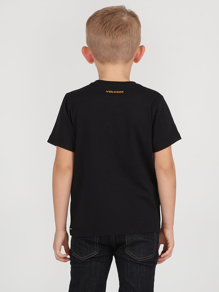 Little Boys Eliptical Tee - Black