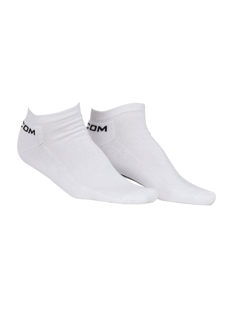 Half Stone Ankle Sock - White